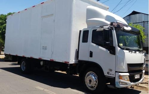 camión yuejin nj 1317 (gildemeister), motor cummins, 2015
