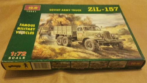 camión zil - 157 soviet army truck a esc 1/72