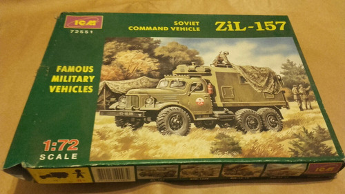 camión zil - 157 soviet command vehicle 1/72