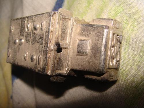 camioncito de traslado de valores metalico