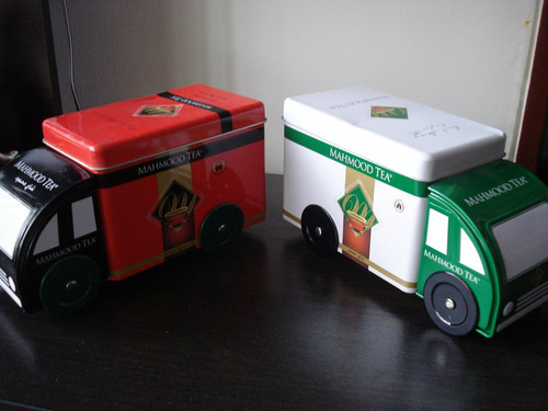 camioncitos en hojalata