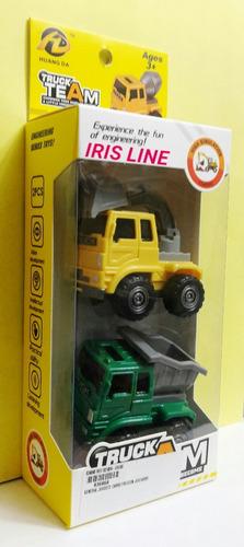 camioncitos truck team friccion de 6x6x 5cm cars
