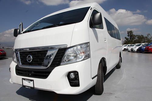 camioneras nissan urvan  15 pasajeros ¡bono de 15k!