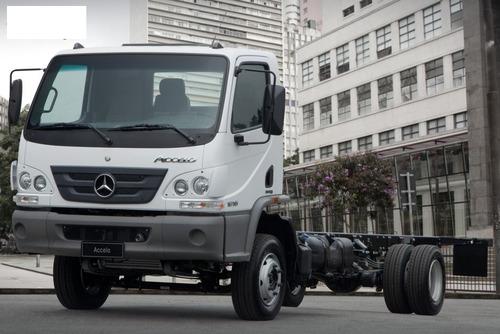 camiones accelo mercedes benz