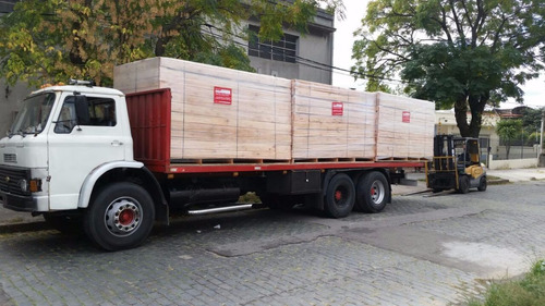 camiones chatas, cargas portuarias, remolques, contenedores.