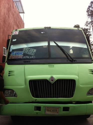 camiones colectivos international 2004 con placas ruta 51