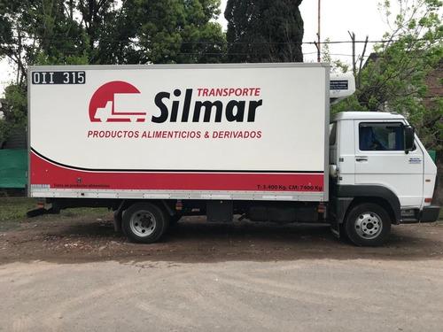 camiones con caja termica y equipo de frio  - ganchera