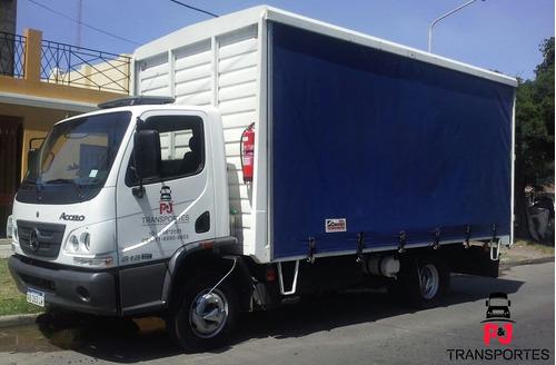 camiones con pala hidráulica mudanzas balancín viajes al int