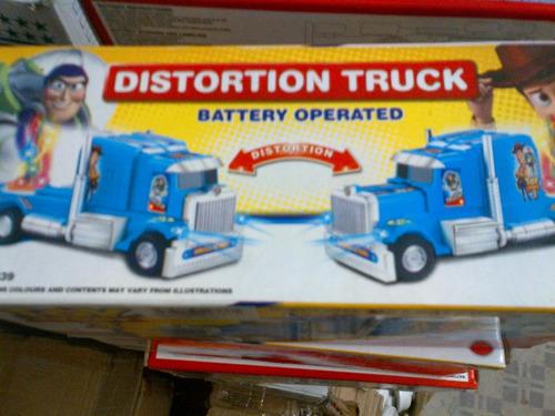camiones de juguetes toy story 3