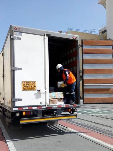 camiones furgón para alquiler/servicio transporte de carga