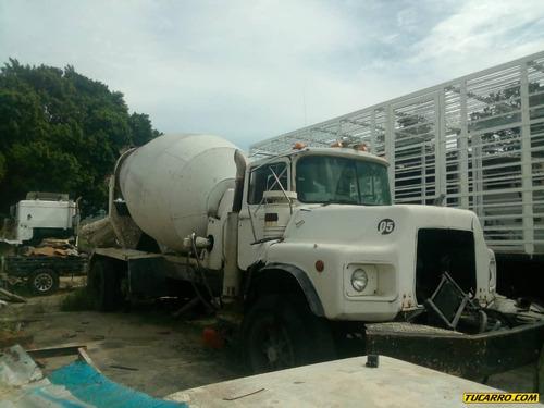camiones mezcladoras
