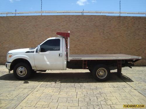 camiones plataformas f-350 4x4 - sincrónica