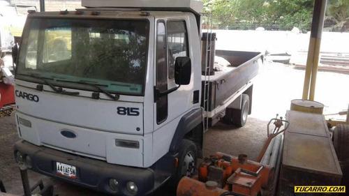 camiones plataformas ford cargo 815
