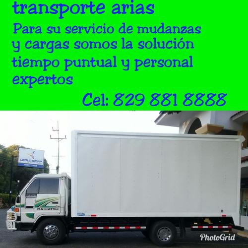 camiones serrados para servicio de mudanza