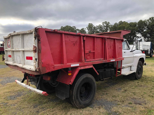 camiones volcadores ford