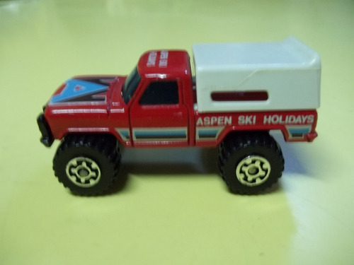 camioneta 4 x 4 con cupula matchbox