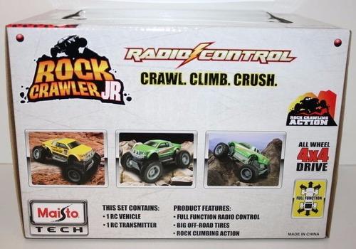 camioneta 4x4 a control remoto rc crawler junior maisto
