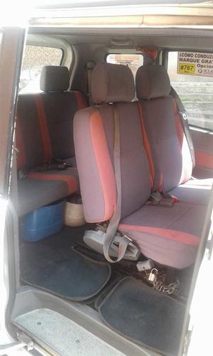 camioneta  6 pasajeros  gasolina  y gas
