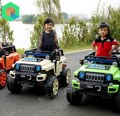 camioneta a bateria hummer 4x4 para niños todo terreno