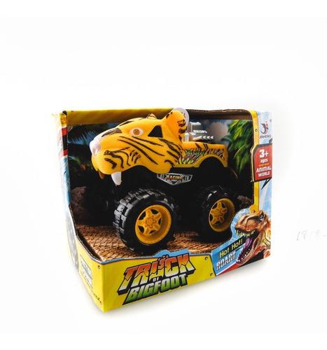 camioneta a fricción tigre con luz y sonidos original nenes