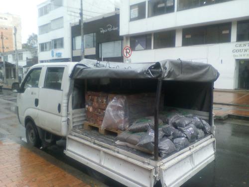 camioneta acarreos. carga, personal, habitaciones. 24 horas.