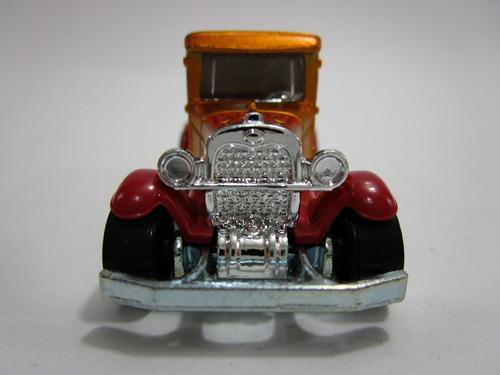 camioneta antigua ford  coleccion escala 7cm hot wheels a1