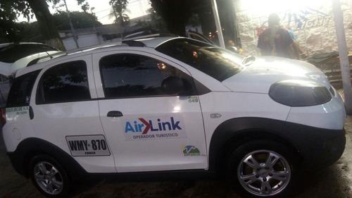 camioneta chery xcross 2015, contrato aeropuerto