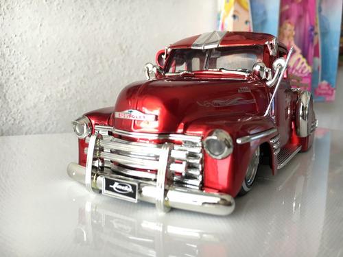 camioneta chevrolet 1951 pickup scale 1:24 de colletion