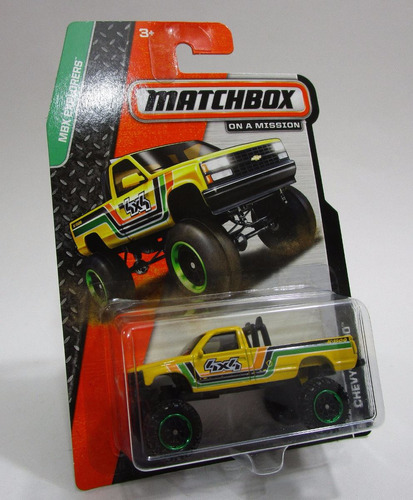 camioneta chevrolet chevy escala 7cm coleccion matchbox