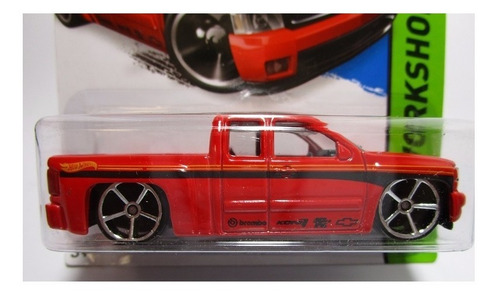 camioneta chevrolet chevy silverado escala hot wheels