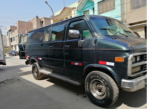 camioneta chevrolet ideal para carga petrolera - panel 1994