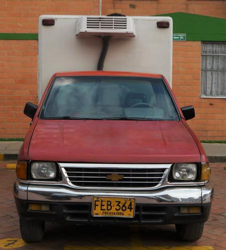 camioneta chevrolet luv refrigerada