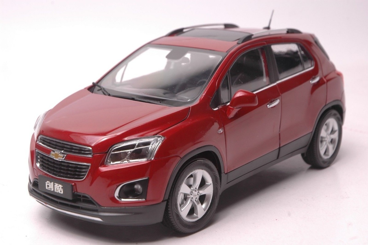Camioneta Chevrolet Trax Rojo A Escala 1/18 - $ 2,950.00 ...
