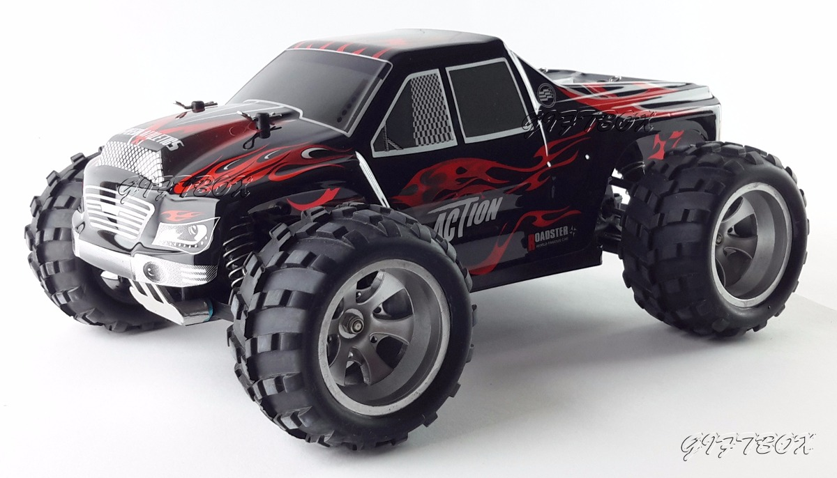 Camioneta Control Remoto Monster Truck Wltoys Garantia