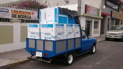 camioneta de alquiler, transporte, fletes