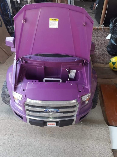camioneta de bateria