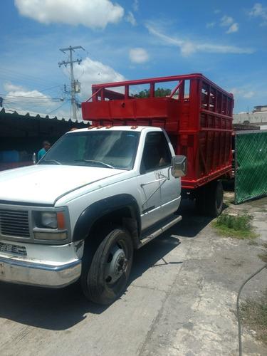 camioneta de carga diesel doble rodada gmc 3500hd