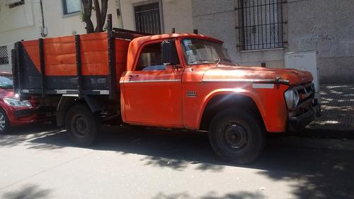 camioneta dodge color naranja motor diesel papeles al día!!