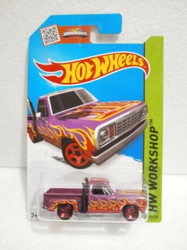 camioneta dodge escala 1/64 coleccion hot wheels 7cm largo