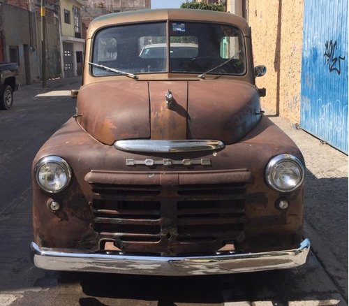 camioneta dodge pickup 1950 cabina regular