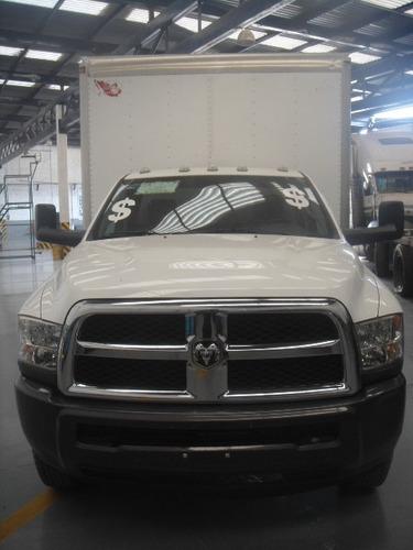camioneta dodge ram 4000 2014 caja seca blanca extra larga