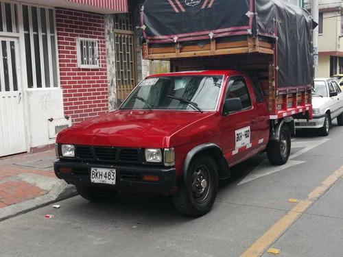 camioneta estacas