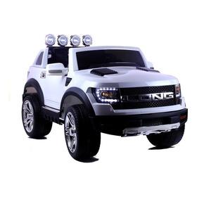 Camioneta Estilo Ford Raptor Niño 1 A 7 Años Llantas De Goma