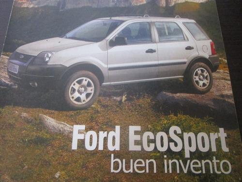 camioneta ford ecosport eco sport coleccion año 2004