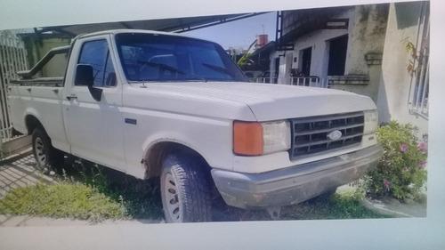 camioneta ford f-100, modelo pick up, año fabricación 1995