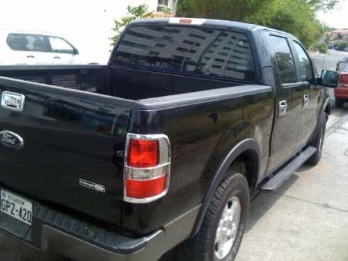 camioneta ford  f-150 xlt fx4 4x4 2007 negra automatica