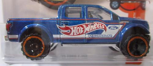 camioneta ford f150 escala 1/64 coleccion  hot wheels 7cm