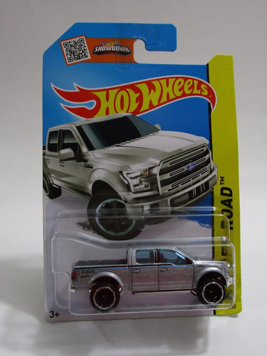 camioneta ford f150 escala 7cm coleccion hot wheels 2013