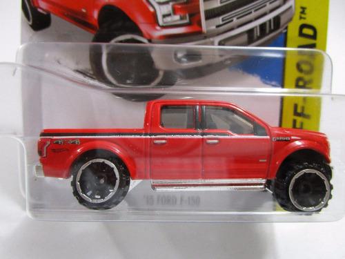 camioneta ford f150 escala pequeña coleccion hot wheels