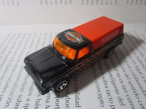 camioneta ford harley davidson escala pequeña hot wheels